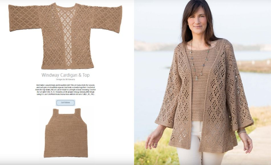 New Crochet Spring Collection is Now Available featuring Sweaters ...