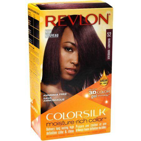 Revlon ColorSilk Moisture Rich Color, Permanent Hair Color   52 Burgundy   Walmart.com Gallery
