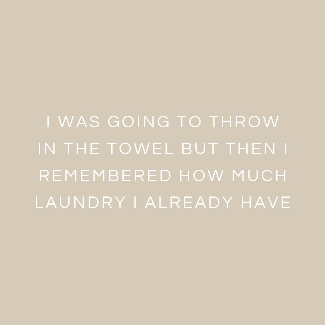 Happy saturday or should we say happy laundry day oh