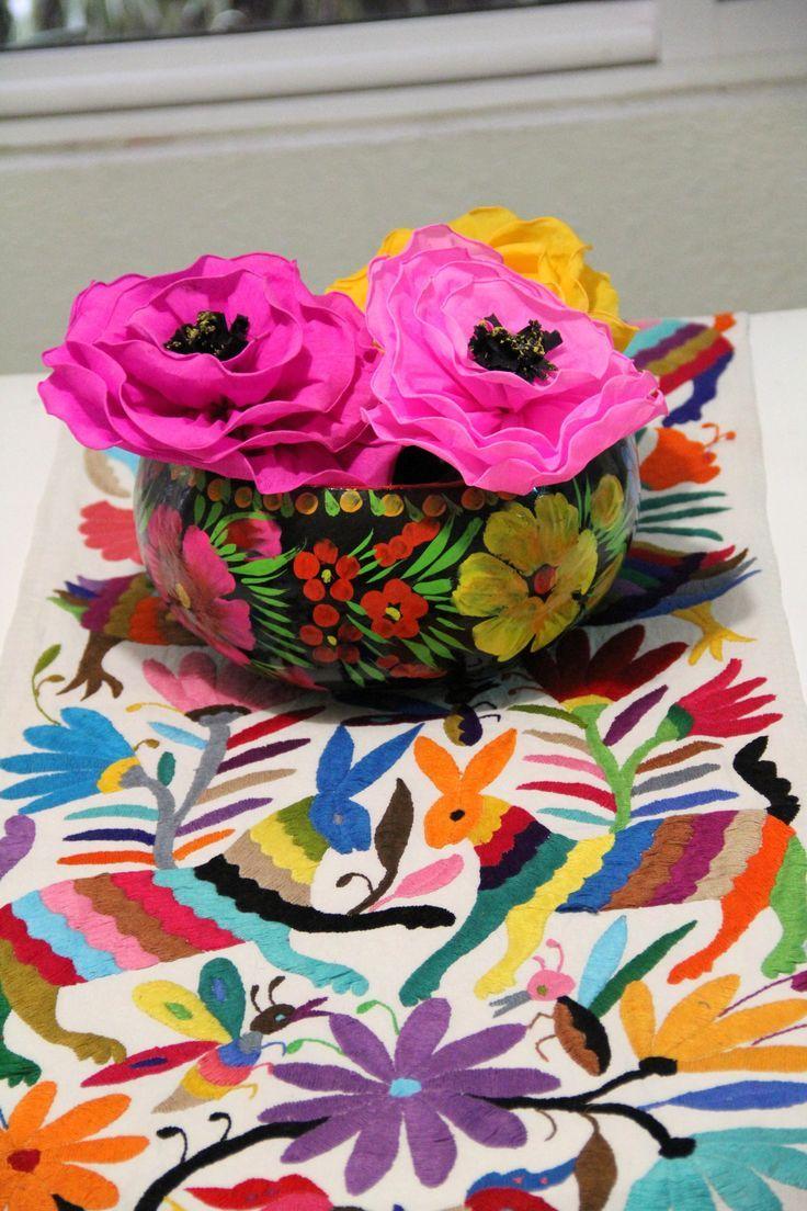 #Textiles #Mexicanos #otomi #decoración