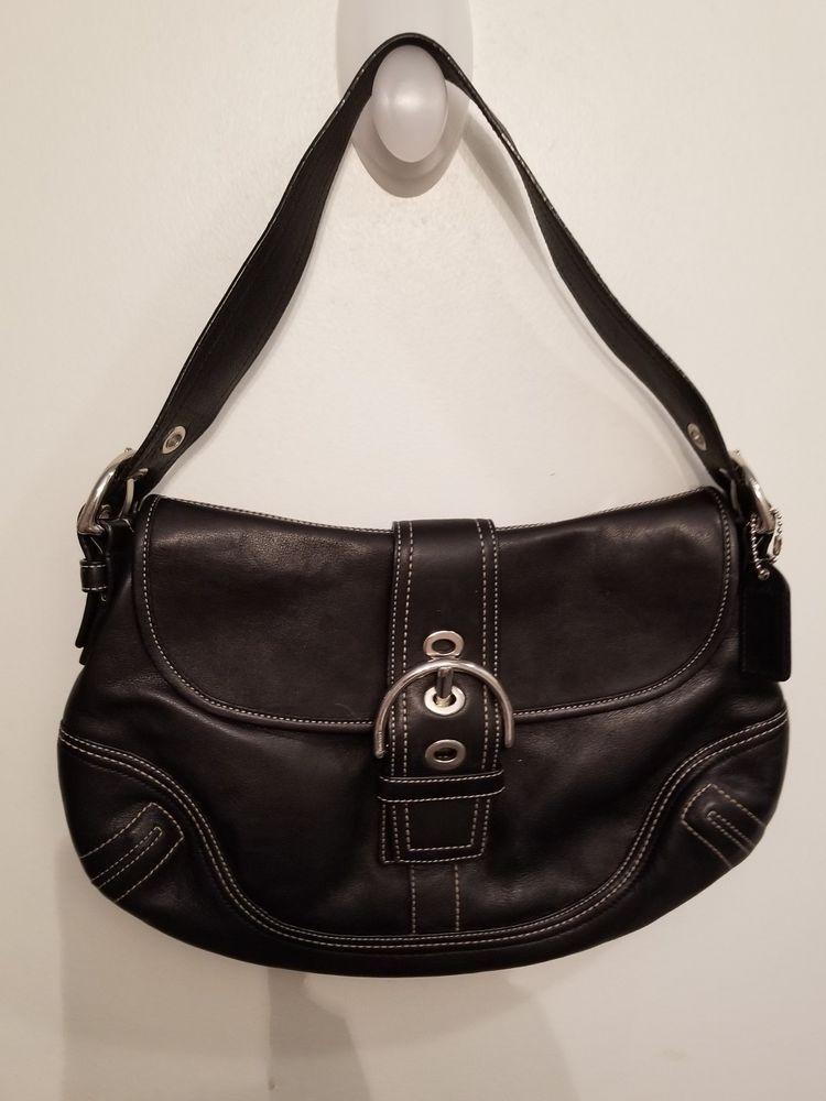 618662928516 COACH HANDBAG SOHO HOBO BLACK LEATHER LOW PRICE #fashion #clothing #shoes  #accessories #womensbagshandbags #ad (ebay link)