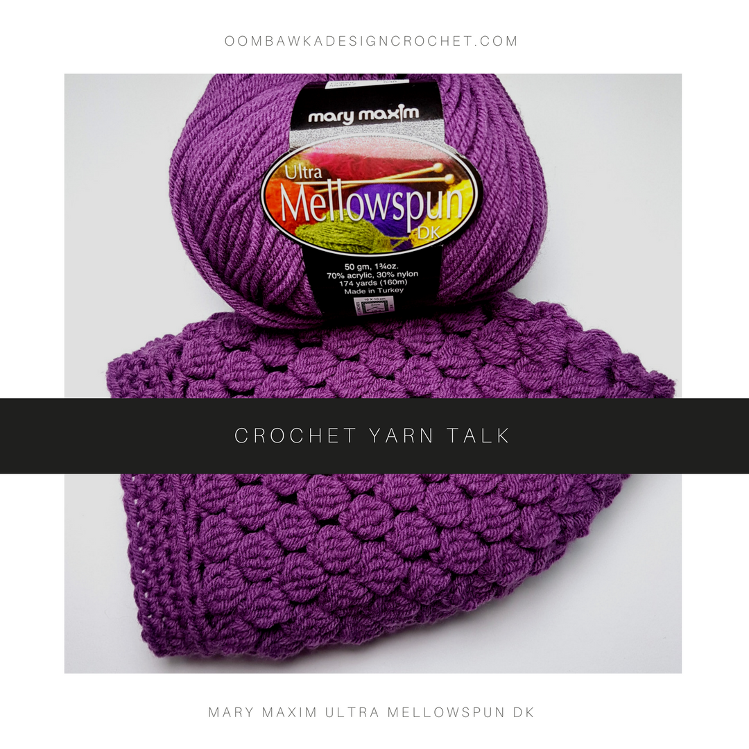 Crochet Yarn Talk - Mary Maxim Ultra Mellowspun DK   Pinterest