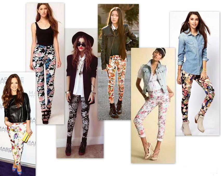 Spodnie W Kwiaty Z Czym Nosic Szukaj W Google Fashion Kimono Top Women