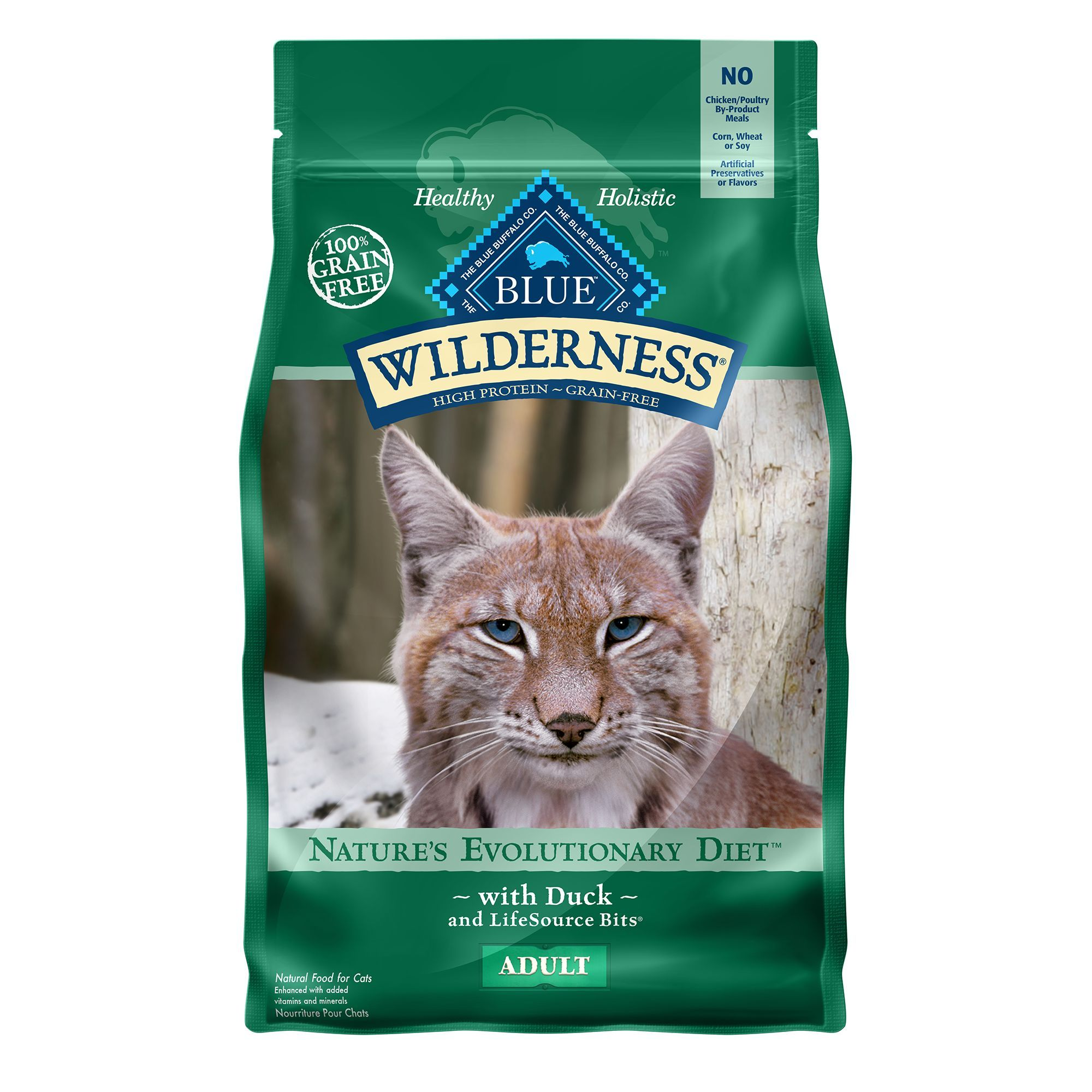 Blue Wilderness Grain Free Duck Adult Cat Food Size 2 Lb Blue Buffalo With Images Cat Food Dry Cat Food Food Animals