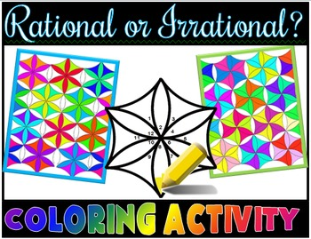 Rational or Irrational? Coloring Activity Integers