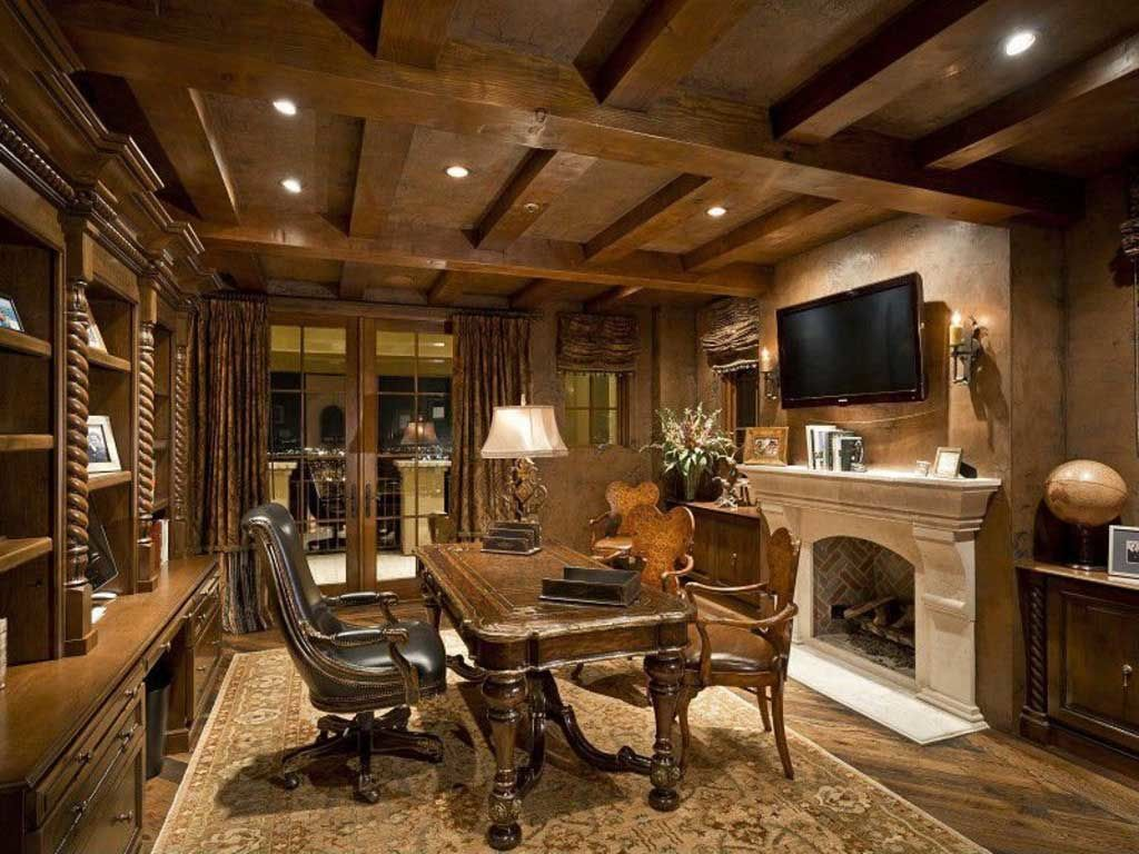 Awesome 21 Really Impressive Home Office Designs In Traditional Style That Wows