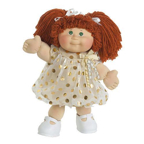 Cabbage Patch Kids 16 Classic Cabbage Patch Kids Red Yarn Hair Green Eyes Nib Cabbage Patch Kids Clothes Cabbage Patch Kids Vintage Cabbage Patch Dolls