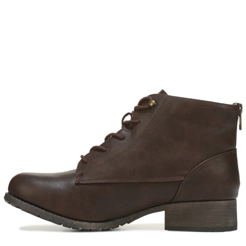 Jellypop Women's Grant Lace up Boots (Brown) - 10.0 M