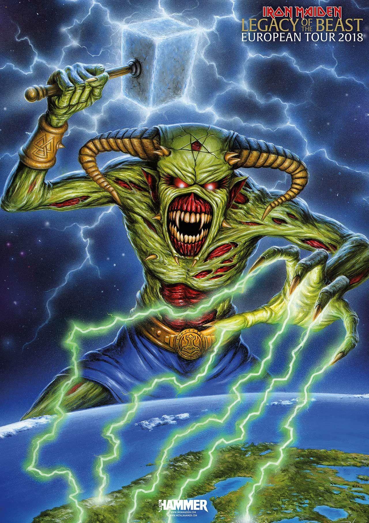 Eddie Iron Maiden Iron Maiden Eddie Iron Maiden Mascot Iron Maiden Tour