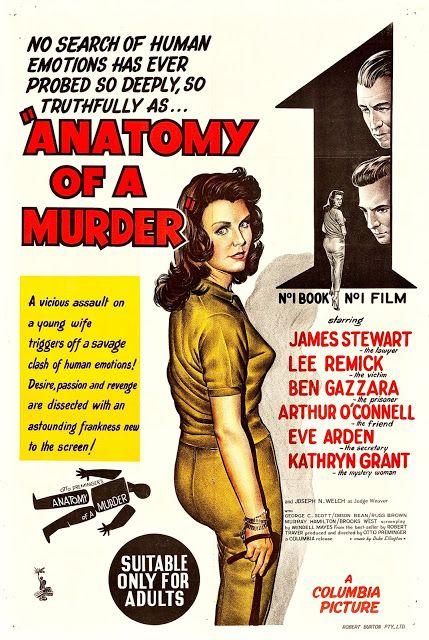 ANATOMÍA DE UN ASESINATO - Anatomy of a Murder - 1959 - Otto ...