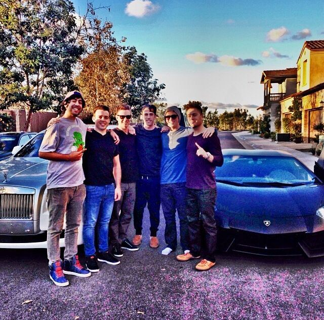 Brad and the homies, he owns BOTH at ONLY 28 years old. Started from $0 7years ago. Copy exactly what successful people do and you will get what successful people have.