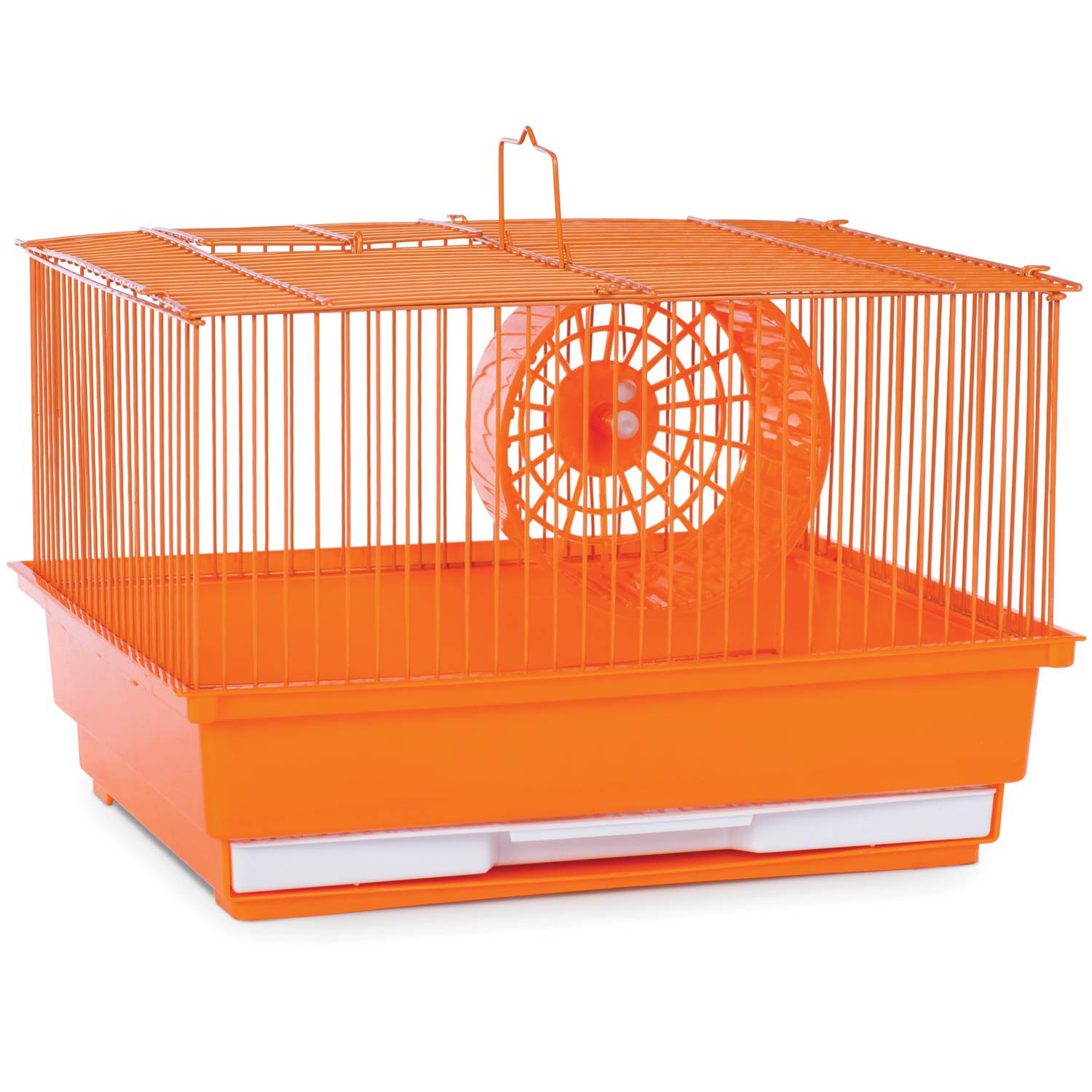 Prevue Pet Products Single Story Orange Small Animal Cage 14 L X 11 W X 8 75 H Products In 2019 Small Animal Cage Pet Cage Gerbil Cages