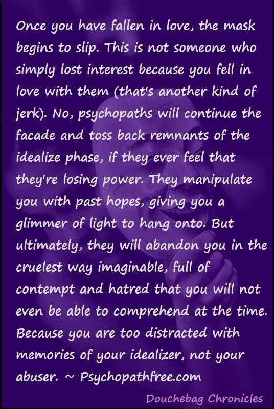 Psychopath relationship