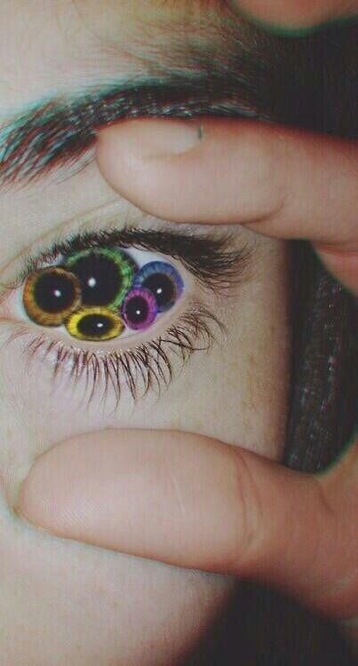 What S Plural For Iris Psychedelic Art Art Trippy