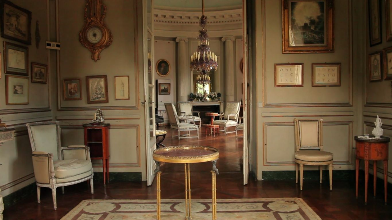 Louis xvii chair - Find This Pin And More On Iconic Houses Labbaye De Royaumont The Only Louis Xvii Style House In The World