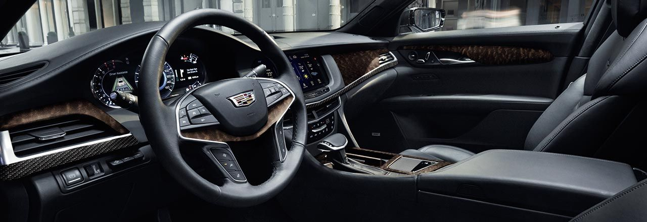 The Cadillac CT6 Driver Side Interior