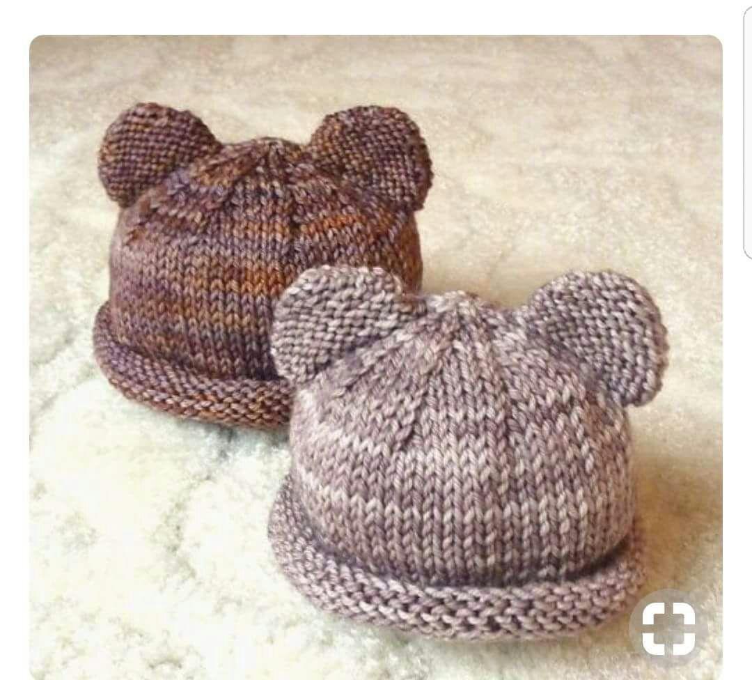 Kulaklı Kolay Bere Tarifi. 2 .3 yaş. | bebe örgü | Pinterest | Baby ...