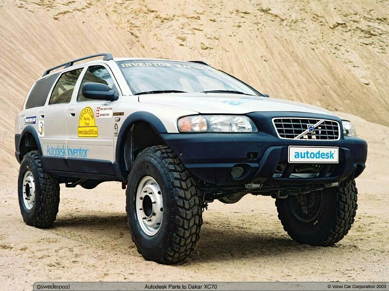 very nice looking volvo xc70 with a lift kit definitely a good off rh pinterest com