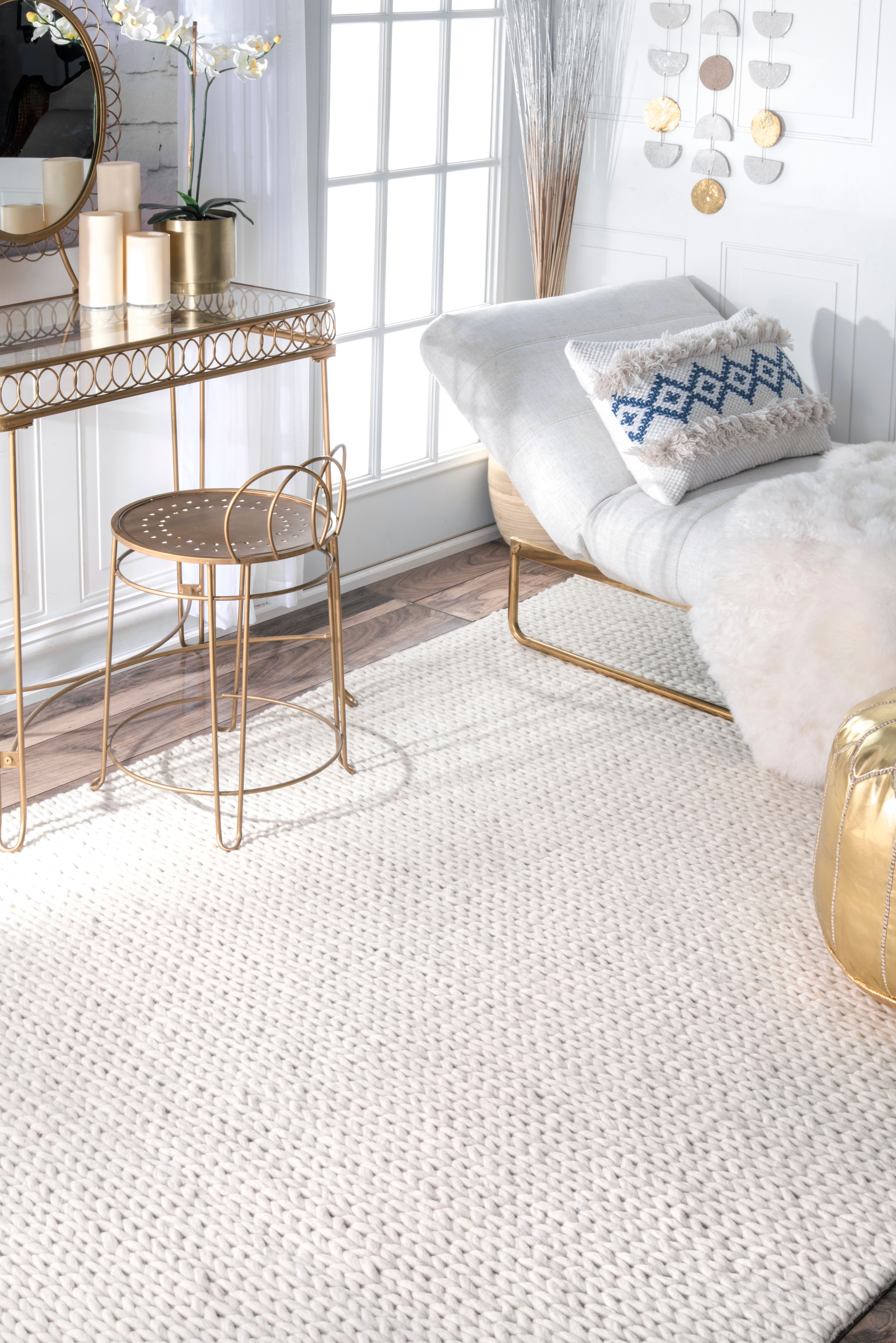 rug for living room size%0A something basic like this for dining room  Rugs USA  Area Rugs in many  styles including Contemporary  Braided  Outdoor and Flokati Shag rugs
