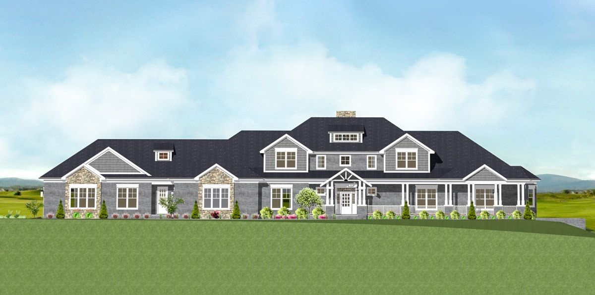 Plan 77636FB Craftsman home with Spectacular Master