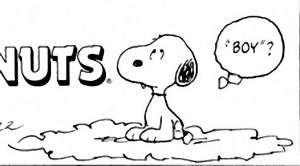 Snoopy in black & white! (63)