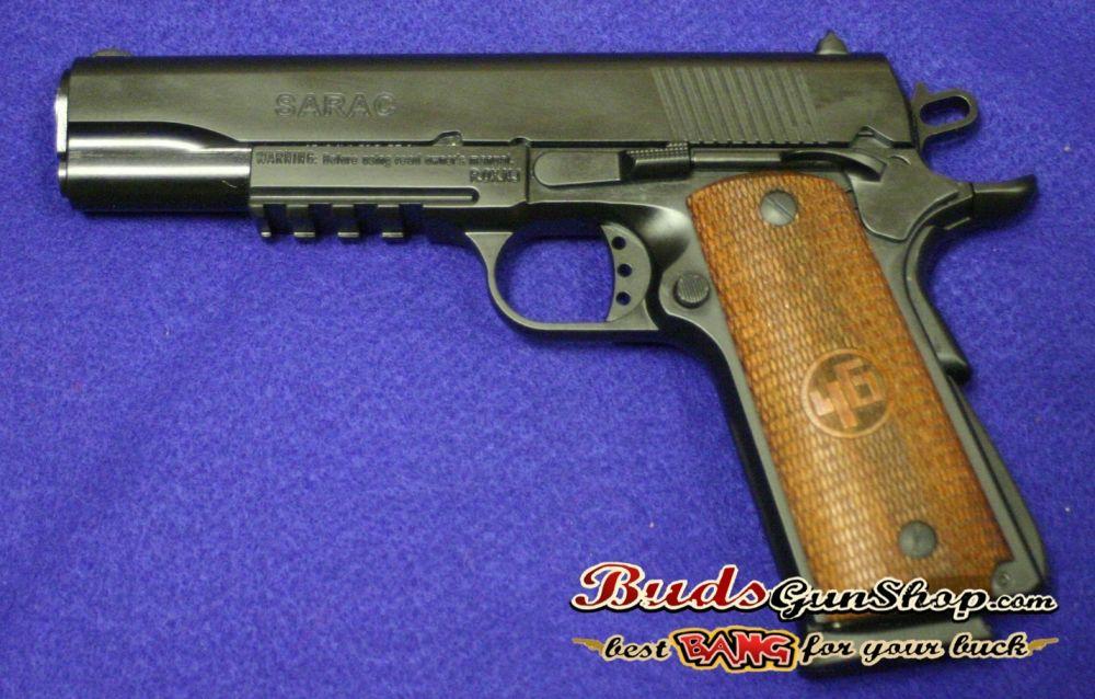"Girsan MC1911SG2 .45ACP 5"" Sport w/Tac Rail 1911 pistol"