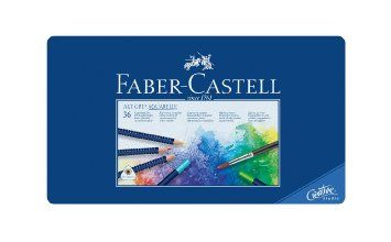 Faber Castell Art Grip Aquarelle Pencils Tin 36 Pencils