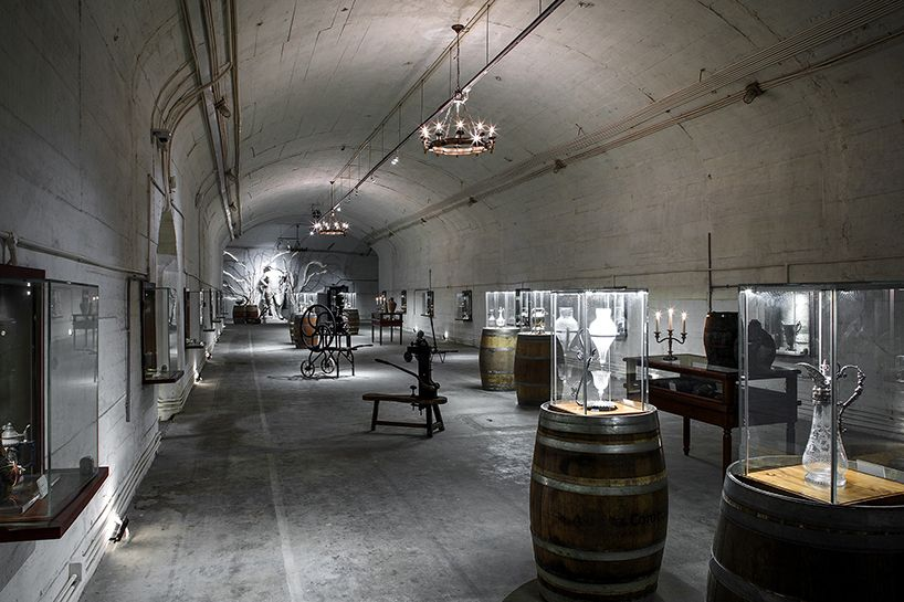 The Military Bunker Turned International Wine Museum Designed By