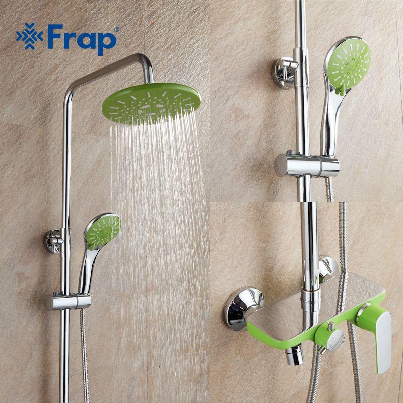 aliexpress com buy frap 1 set of apple green bathroom shower all rh pinterest co uk