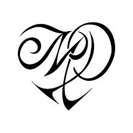 M P Hear Tattoo Initial Tattoo Love Tattoos Tribal Heart Tattoos
