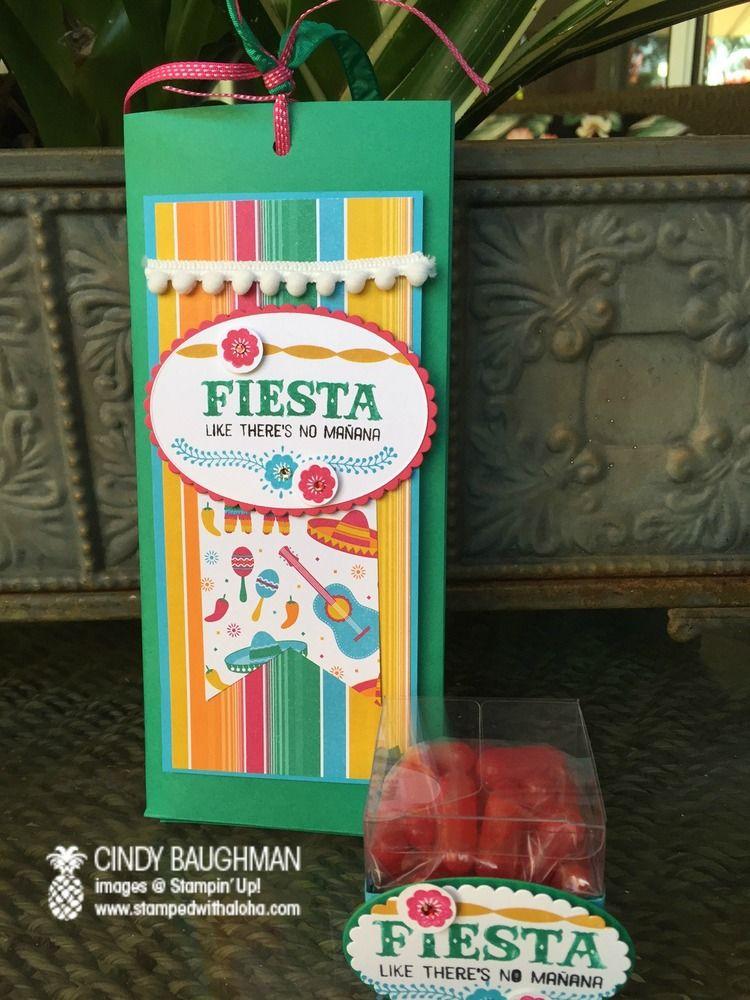 Birthday Fiesta Bunco - www.stampedwithaloha.com