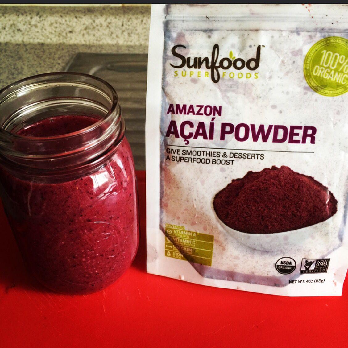 Super alimentos acaí super #sunfood #acaí #rawfood #vegan #antioxidants #healthypeople