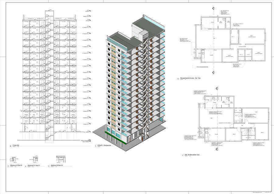 Template Arquitetonico Professional Para Revit Completo Com