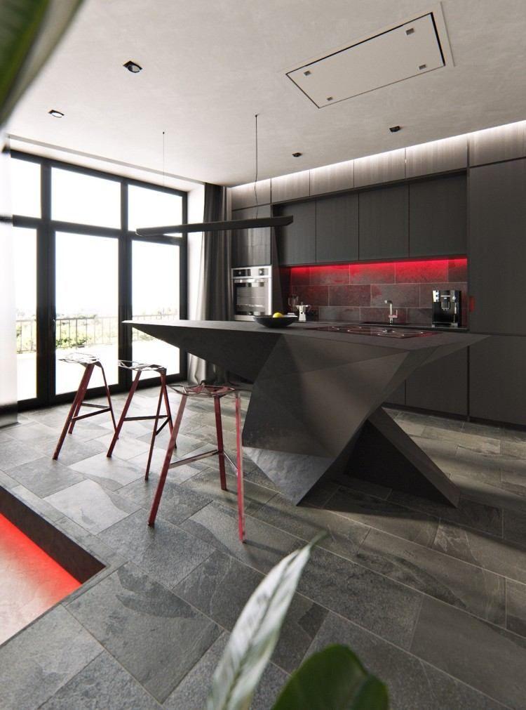 îlot Central Design En 50 Inspirations Splendides Pour Relooker La