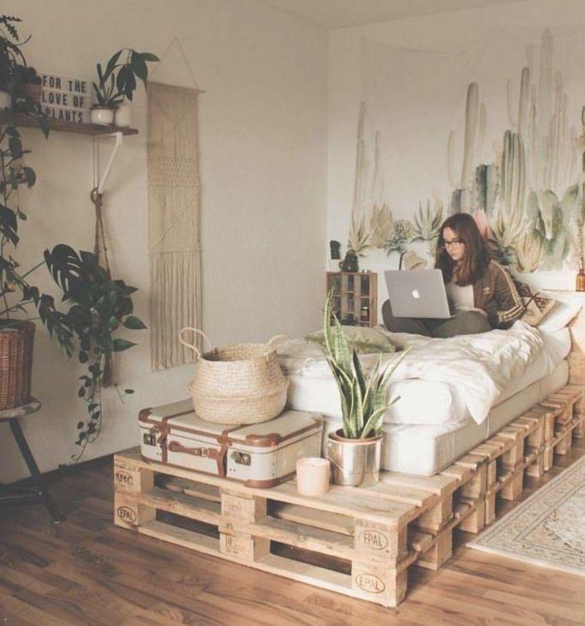 25 Best Boho Scandinavian Common Ivy Sleep Plants In Bedroom Harmful Gardenia Bedr Small Apartment Decorating College Apartment Decor Creative Home Decor