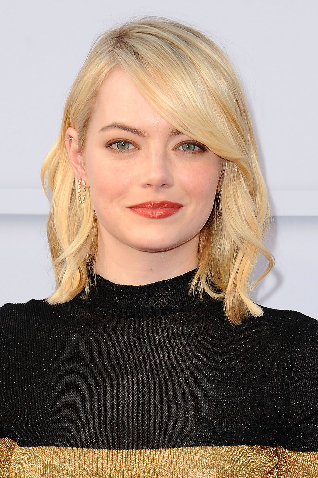 38 Non Boring Ways To Wear A Lob Bob Hairstyles With Bangs