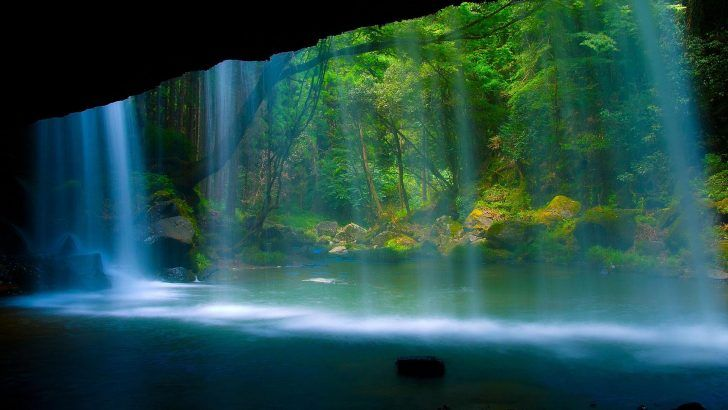 Water Wallpapers Desktop Background Best Wallpaper Full Hd On Nature Category Similar With 3d City Colo Waterfall Wallpaper Waterfall Desktop Background Nature