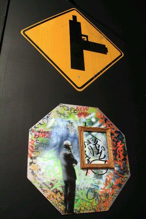 Sign, Banksy