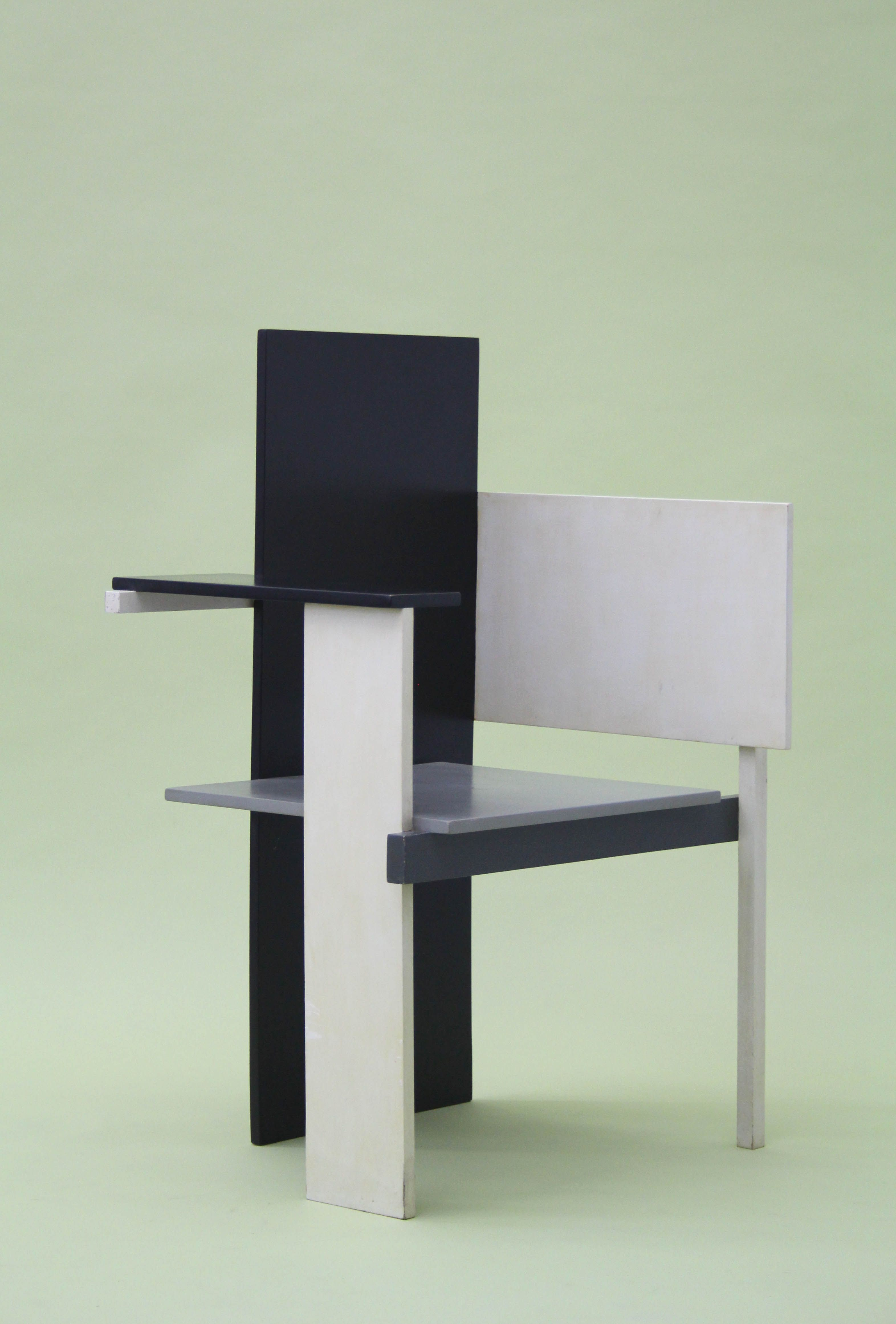 Berlin Chair, Gerrit Rietveld, DIY, UK, 1980s