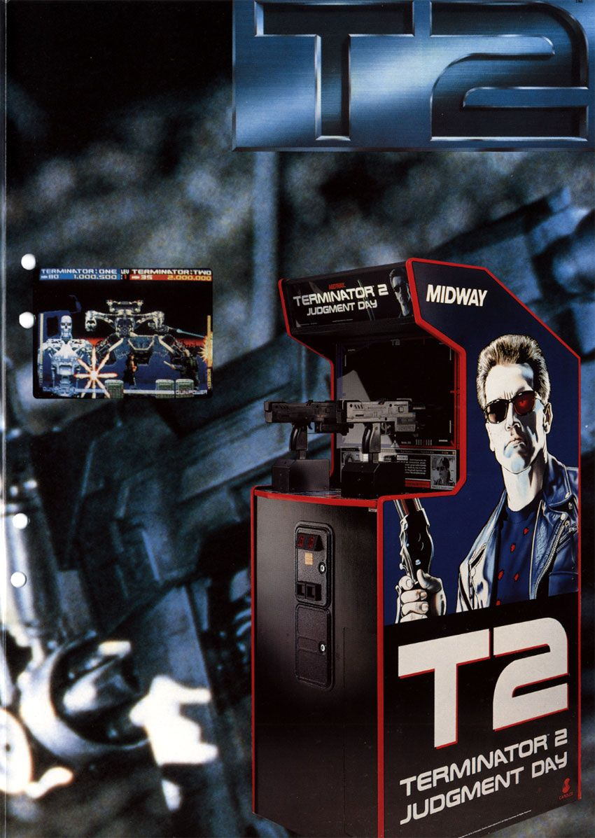 terminator 2: judgment day | 20 best arcade games | pinterest