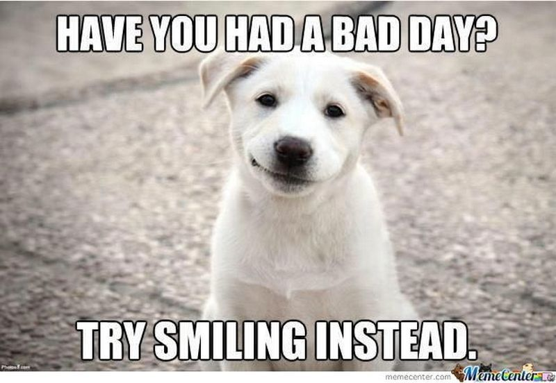 101 Smile Memes To Make Your Day Even Brighter Happy Memes Bad Day Meme Having A Bad Day