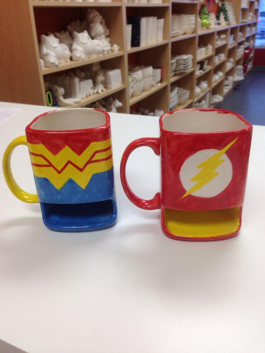 Mug de Cer/ámica Little Heroes