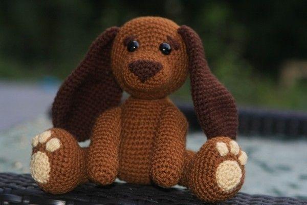 Hund selber häkeln – DIY-PDF- Amigurumi ✓ | perros a crochet ...
