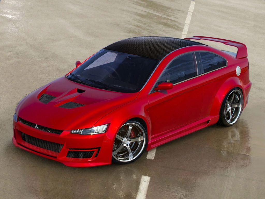 mistsubishi evo x concept by marciovt on deviantart dream cars rh pinterest com