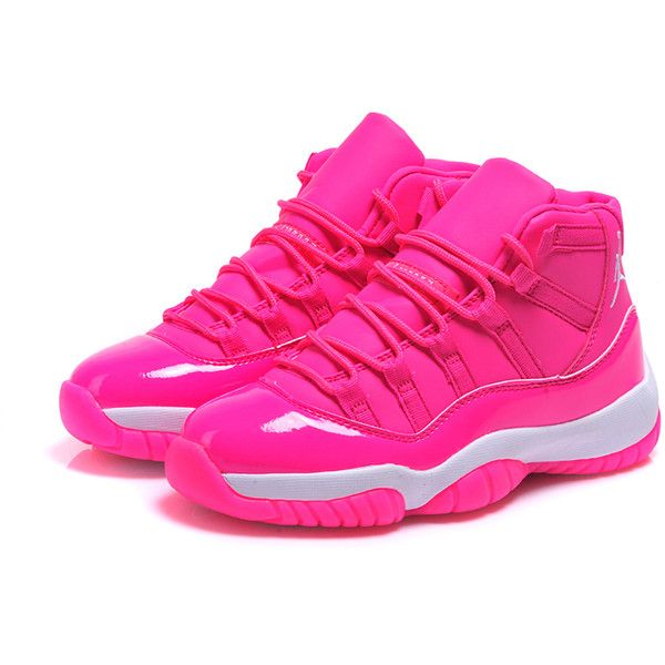 Nike Air Jordan 11 Des Femmes De Hot-dog Blanc Rose