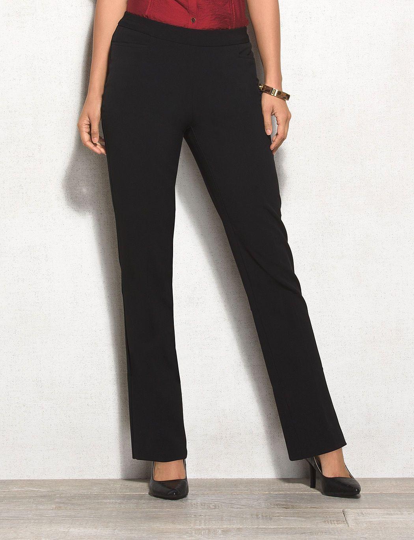 7b7a662fe4d Plus Size Secret Agent Straight Pants Tall dressbarn wishlist