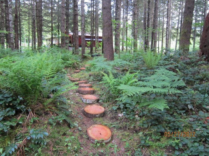 Forest cabin landscaping landscaping ideas landscape design pictures forest gardening - Mountain garden landscaping ideas ...