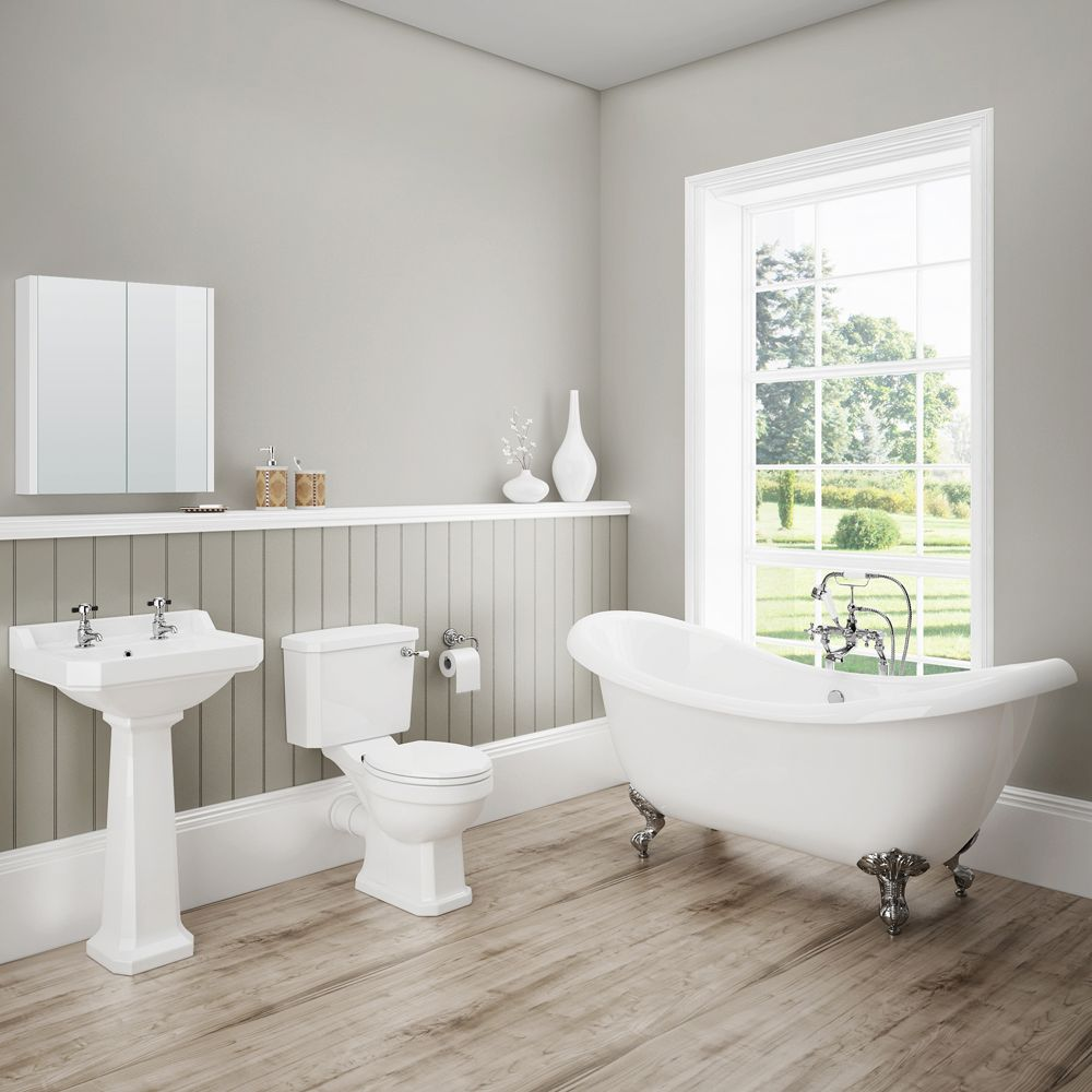 Darwin Traditional Bathroom Suite | Traditional bathroom suites ...