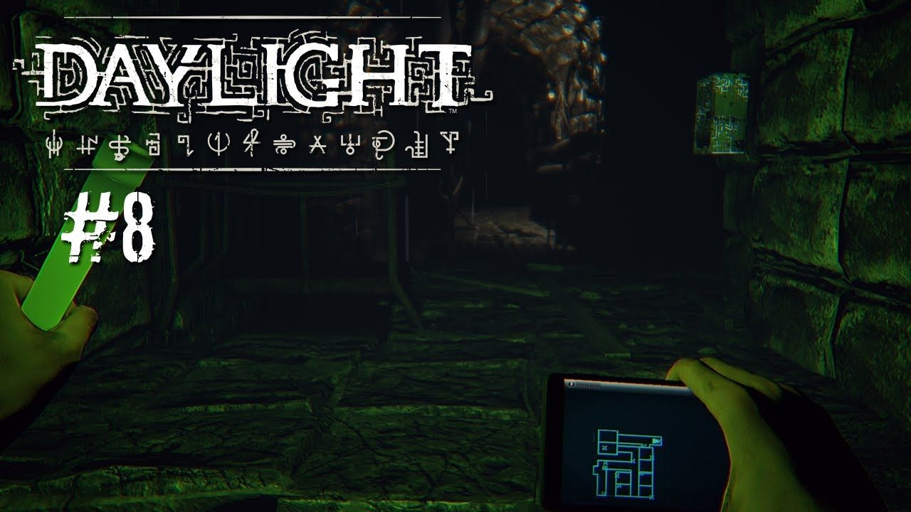Daylight #8 [Facecam] - Runter in die Kanalisation - Let's Play Daylight