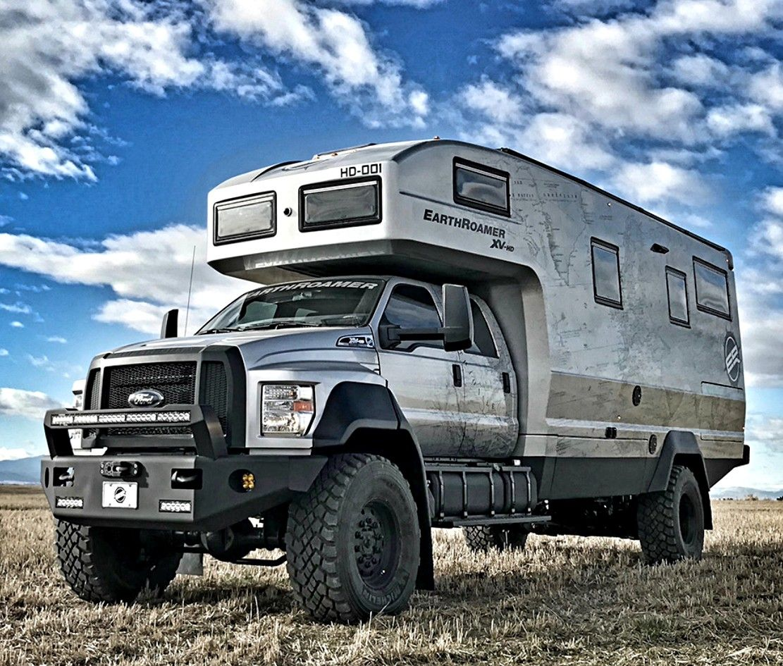 2018 Ford F750 EarthRoamer HD
